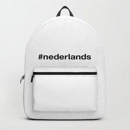 NEDERLANDS Hashtag Backpack