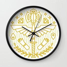 Cleric Emblem Wall Clock
