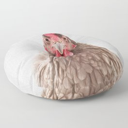 Chicken - Colorful Floor Pillow