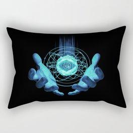 Virtual Reality Check Rectangular Pillow