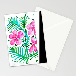 Orchid Bunch – Fuchsia & Green Palette Stationery Cards