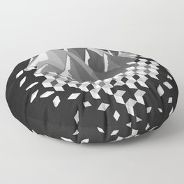 mountains Floor Pillow