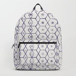 Blue boho pattern  Backpack