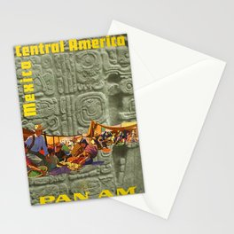 Central America Placard Stationery Cards