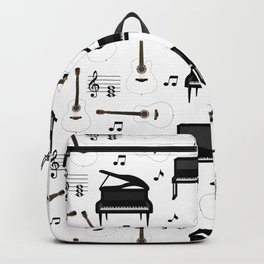 Neck Gaiter Music Piano Guitar Neck Gator Backpack