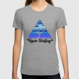 Figure Skating Female Skater Gift T-shirt