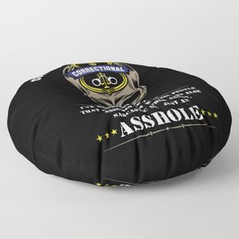 Proud Correctional Officer Floor Pillow