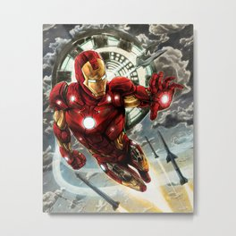 Iron Man Metal Print