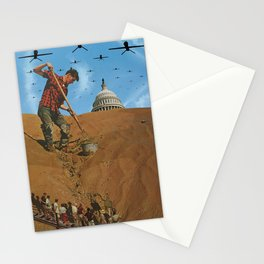 Your Democracy at Work Stationery Cards