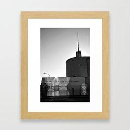 A portrait of God in Hollywood 3 of 5 Framed Art Print