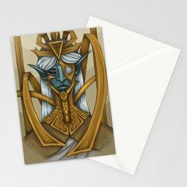 Clockwork God Stationery Cards