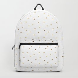 Little Gold Hearts Backpack