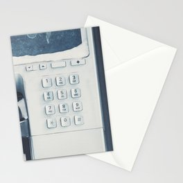 Winter Payphone Stationery Cards
