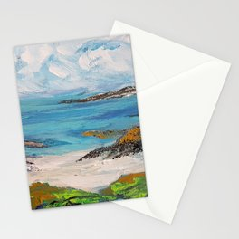 Beach in Scotland Stationery Cards