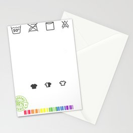 Anti-Racist Human Beings Colors may Vary Stationery Cards