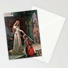 Edmund Blair Leighton - Accolade - Edmund Blair Leighton Stationery Cards