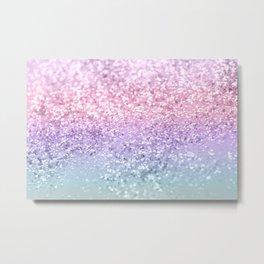 Unicorn Girls Glitter #1 #shiny #pastel #decor #art #society6 Metal Print