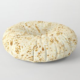 Delicious Pita Bread Funny Art Pattern Floor Pillow