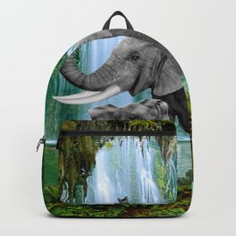 ELEPHANTS OF THE RAIN FOREST Backpack
