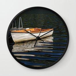 The Row Boat Wall Clock