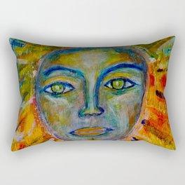 Daughter of the Sun and Moon Rectangular Pillow