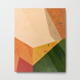 color blocks #3 Metal Print