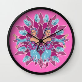 Katya Zamolodchikova - Jelly Fish Wall Clock