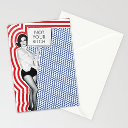 Not Your Bitch Stationery Cards