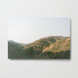 Mulholland Hills Metal Print