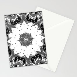 Star Symmetry Stationery Cards