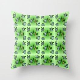 Bulba Buddies Throw Pillow