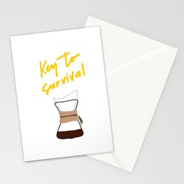 Coffee - Chemex Stationery Cards