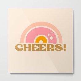 cheery cheers Metal Print