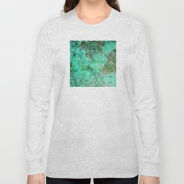 Moment of Epiphany: Emerald  Jewel Version Long Sleeve T-shirt