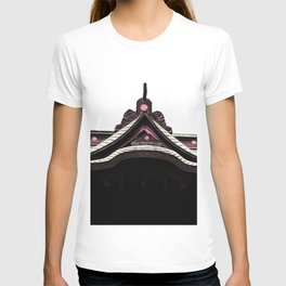 yashiro Japanese  Shrine God's house T-shirt