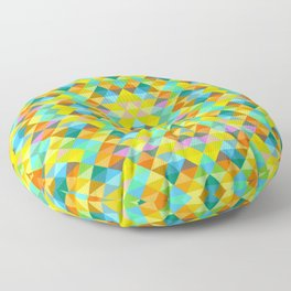 Delight Square One Green Floor Pillow