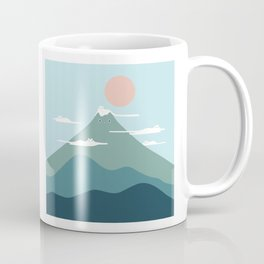 Cat Landscape 72B Coffee Mug