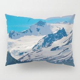 Bear_Creek Mountain Glacier - Alaska Pillow Sham