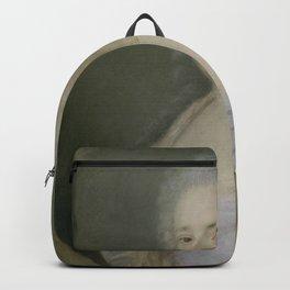 Jean Baptiste Perroneau - Catharine Elisabeth Metayer (geb 1744) Backpack