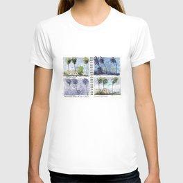 Hurricane Irma on Location w title T-shirt