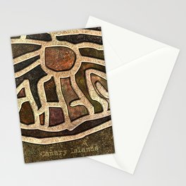 Ancestry Map Stationery Cards