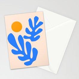 Henri Matisse - Leaves - Blue Stationery Cards