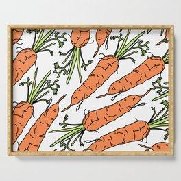 Orange Carrots Serving Tray