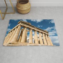 Parthenon Greece Rug
