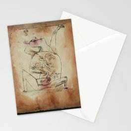 The Pathos of Fertility Paul Klee Stationery Cards