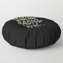 Ham Radio Operator CB Ham Amateur Radio  Floor Pillow