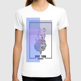 Robot Town color T-shirt