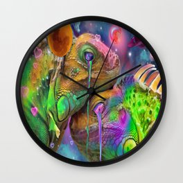 Cold Blooded Love Wall Clock