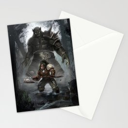 the quest continues Stationery Cards