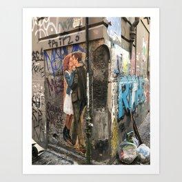 Lovers Corner Art Print